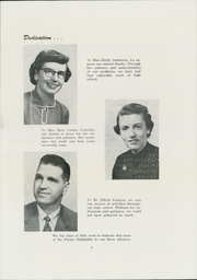 Page 7, 1954 Edition, Phelps Central High School - Highlights Yearbook (Phelps, NY) online yearbook collection