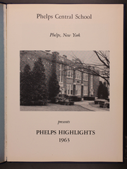 Page 5, 1963 Edition, Phelps Central High School - Highlights Yearbook (Phelps, NY) online yearbook collection