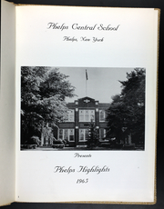 Page 5, 1965 Edition, Phelps Central High School - Highlights Yearbook (Phelps, NY) online yearbook collection