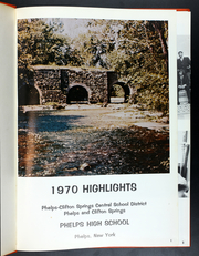 Page 5, 1970 Edition, Phelps Central High School - Highlights Yearbook (Phelps, NY) online yearbook collection