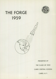 Page 5, 1959 Edition, Cairo Central High School - Forge Yearbook (Cairo, NY) online yearbook collection