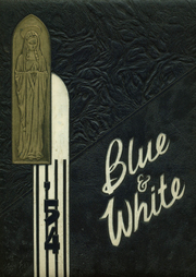 1954 Edition, St Anns High School - Blue and White Yearbook (Brooklyn, NY)