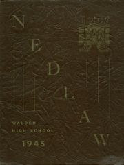 1945 Edition, Walden High School - Yearbook (Walden, NY)