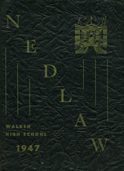 1947 Edition, Walden High School - Yearbook (Walden, NY)