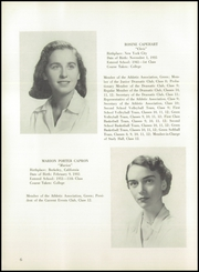 Page 10, 1953 Edition, Chapin School - Yearbook (New York, NY) online yearbook collection