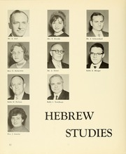 Page 14, 1962 Edition, Yeshiva University High School For Girls - Elchanet Yearbook (New York, NY) online yearbook collection