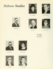 Page 16, 1964 Edition, Yeshiva University High School For Girls - Elchanet Yearbook (New York, NY) online yearbook collection