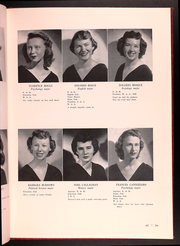 Page 11, 1949 Edition, Catholic Womens College - El Faro Yearbook (San Francisco, CA) online yearbook collection