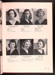 Page 15, 1949 Edition, Catholic Womens College - El Faro Yearbook (San Francisco, CA) online yearbook collection
