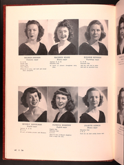 Page 16, 1949 Edition, Catholic Womens College - El Faro Yearbook (San Francisco, CA) online yearbook collection