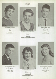 Page 14, 1959 Edition, Delevan Machias Central High School - Flash Yearbook (Machias, NY) online yearbook collection