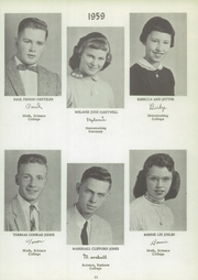 Page 15, 1959 Edition, Delevan Machias Central High School - Flash Yearbook (Machias, NY) online yearbook collection