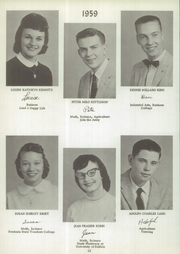 Page 16, 1959 Edition, Delevan Machias Central High School - Flash Yearbook (Machias, NY) online yearbook collection