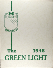 Manchester High School - Green Light Yearbook (Manchester, NY) online yearbook collection, 1948 Edition, Page 1