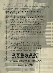 Page 4, 1951 Edition, Otego High School - A Te Gen Yearbook (Otego, NY) online yearbook collection