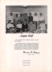 Page 6, 1958 Edition, Otego High School - A Te Gen Yearbook (Otego, NY) online yearbook collection