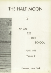 Page 7, 1956 Edition, Tappan Zee High School - Half Moon Yearbook (Piermont, NY) online yearbook collection