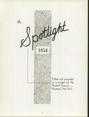 Page 5, 1956 Edition, Hammond Central School - Spotlight Yearbook (Hammond, NY) online yearbook collection