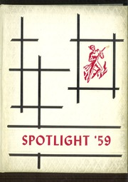 Hammond Central School - Spotlight Yearbook (Hammond, NY) online yearbook collection, 1959 Edition, Page 1