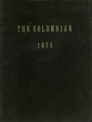 1934 Edition, St Columbas High School - Columbian Yearbook (Schenectady, NY)