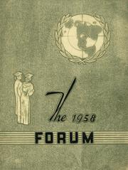 Page 1, 1958 Edition, Sloan High School - Forum Yearbook (Sloan, NY) online yearbook collection