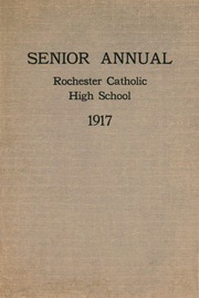 Aquinas Institute - Arete Yearbook (Rochester, NY) online yearbook collection, 1917 Edition, Page 1