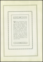 Page 9, 1927 Edition, Aquinas Institute - Arete Yearbook (Rochester, NY) online yearbook collection