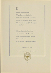 Page 14, 1939 Edition, Aquinas Institute - Arete Yearbook (Rochester, NY) online yearbook collection