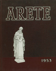 Page 1, 1953 Edition, Aquinas Institute - Arete Yearbook (Rochester, NY) online yearbook collection