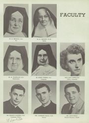Page 17, 1953 Edition, Aquinas Institute - Arete Yearbook (Rochester, NY) online yearbook collection