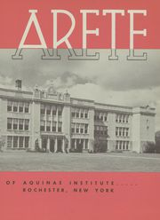 Page 7, 1953 Edition, Aquinas Institute - Arete Yearbook (Rochester, NY) online yearbook collection