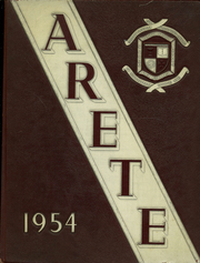 Aquinas Institute - Arete Yearbook (Rochester, NY) online yearbook collection, 1954 Edition, Page 1