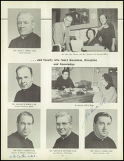 Page 14, 1955 Edition, Aquinas Institute - Arete Yearbook (Rochester, NY) online yearbook collection
