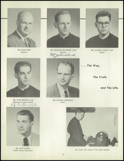 Page 16, 1955 Edition, Aquinas Institute - Arete Yearbook (Rochester, NY) online yearbook collection