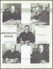 Page 15, 1957 Edition, Aquinas Institute - Arete Yearbook (Rochester, NY) online yearbook collection