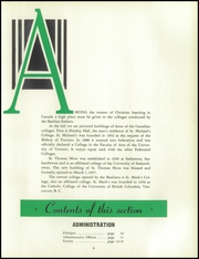 Page 13, 1959 Edition, Aquinas Institute - Arete Yearbook (Rochester, NY) online yearbook collection