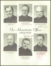 Page 15, 1959 Edition, Aquinas Institute - Arete Yearbook (Rochester, NY) online yearbook collection