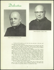 Page 8, 1959 Edition, Aquinas Institute - Arete Yearbook (Rochester, NY) online yearbook collection