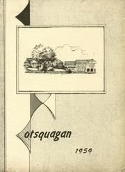 1959 Edition, Van Hornesville High School - Otsquagan Yearbook (Van Hornesville, NY)