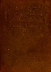 1907 Edition, Belmont College - Milady in Brown Yearbook (Nashville, TN)