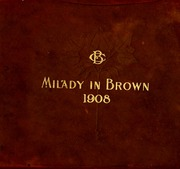 1908 Edition, Belmont College - Milady in Brown Yearbook (Nashville, TN)