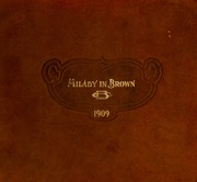 1909 Edition, Belmont College - Milady in Brown Yearbook (Nashville, TN)