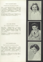 Page 15, 1950 Edition, St Marys High School - Per Annos Yearbook (Cortland, NY) online yearbook collection