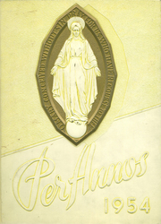 Page 1, 1954 Edition, St Marys High School - Per Annos Yearbook (Cortland, NY) online yearbook collection