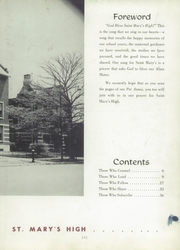 Page 7, 1955 Edition, St Marys High School - Per Annos Yearbook (Cortland, NY) online yearbook collection
