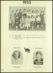Page 16, 1952 Edition, Grand Gorge Central High School - Hub Yearbook (Grand Gorge, NY) online yearbook collection
