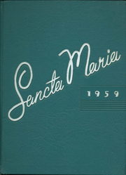 Page 1, 1959 Edition, St Marys High School - Sancta Maria Yearbook (Niagara Falls, NY) online yearbook collection