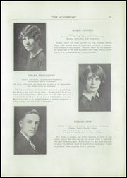 Page 15, 1927 Edition, St Patricks Academy - Patrician Yearbook (Binghamton, NY) online yearbook collection