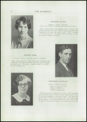 Page 16, 1927 Edition, St Patricks Academy - Patrician Yearbook (Binghamton, NY) online yearbook collection
