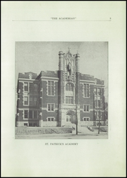 Page 5, 1927 Edition, St Patricks Academy - Patrician Yearbook (Binghamton, NY) online yearbook collection